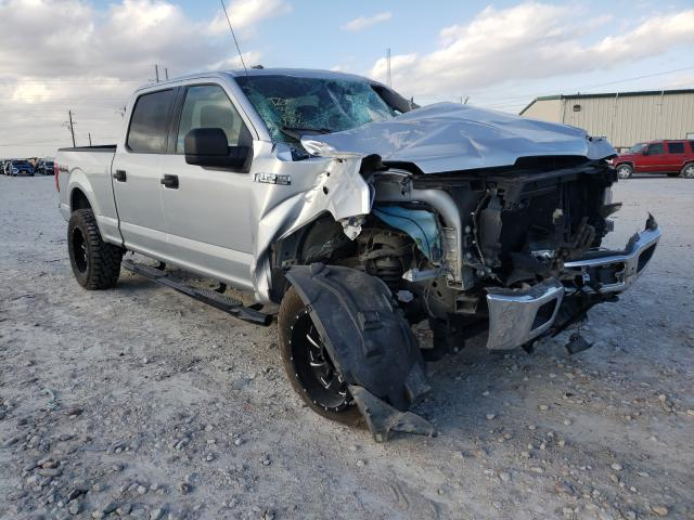Salvage cars for sale from Copart Haslet, TX: 2019 Ford F150 Super