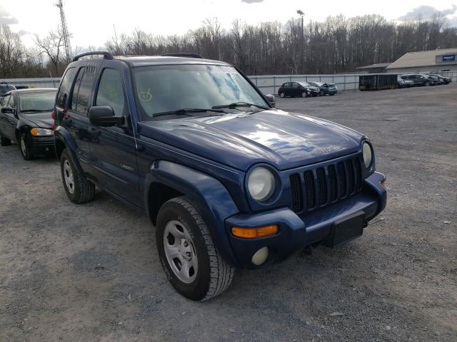 Salvage cars for sale from Copart York Haven, PA: 2004 Jeep Liberty LI