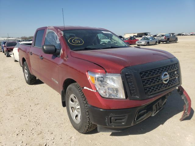 Salvage cars for sale from Copart San Antonio, TX: 2017 Nissan Titan S