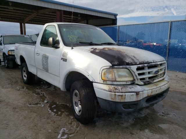 Salvage cars for sale from Copart Riverview, FL: 1999 Ford F150