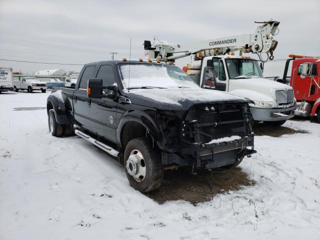 Salvage cars for sale from Copart Hammond, IN: 2016 Ford F350 Super