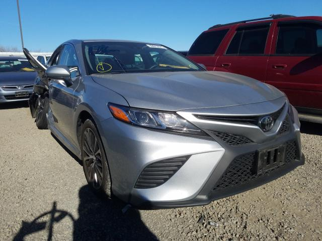 Salvage cars for sale from Copart Sacramento, CA: 2018 Toyota Camry L