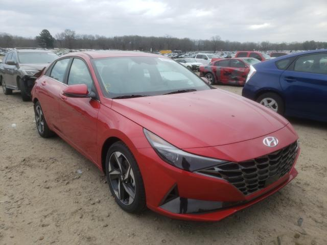 Hyundai Elantra salvage cars for sale: 2021 Hyundai Elantra