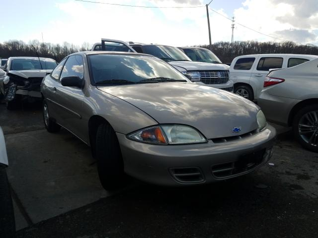 Chevrolet Cavalier salvage cars for sale: 2002 Chevrolet Cavalier