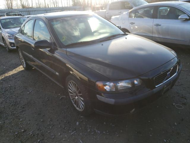 Volvo salvage cars for sale: 2002 Volvo S60 2.4T