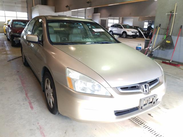 Salvage cars for sale from Copart Sandston, VA: 2003 Honda Accord EX