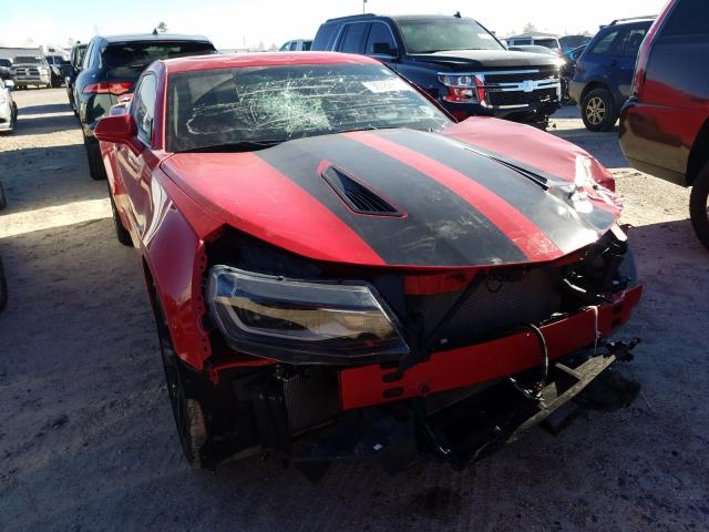 Chevrolet Camaro SS salvage cars for sale: 2017 Chevrolet Camaro SS