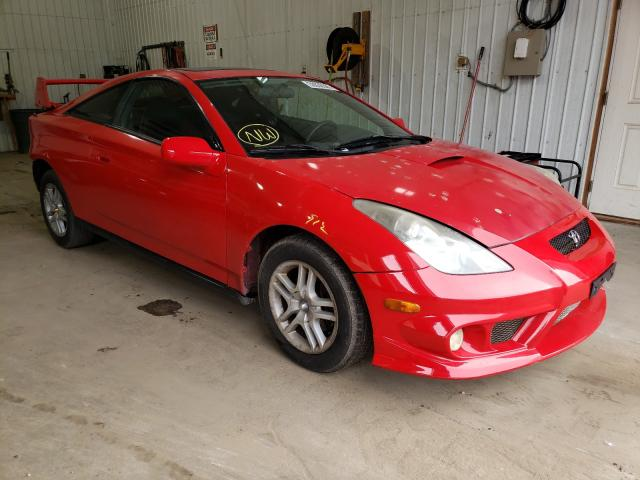 Salvage cars for sale from Copart Seaford, DE: 2001 Toyota Celica GT