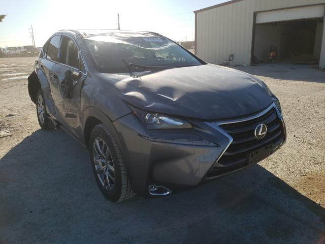 Salvage cars for sale from Copart Temple, TX: 2016 Lexus NX 200T BA