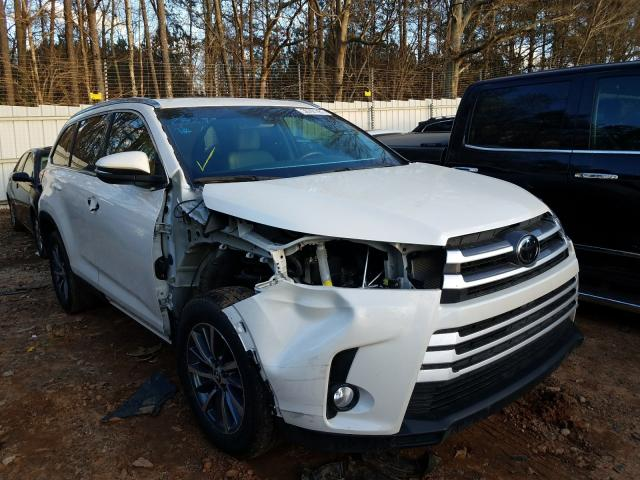 Toyota salvage cars for sale: 2019 Toyota Highlander