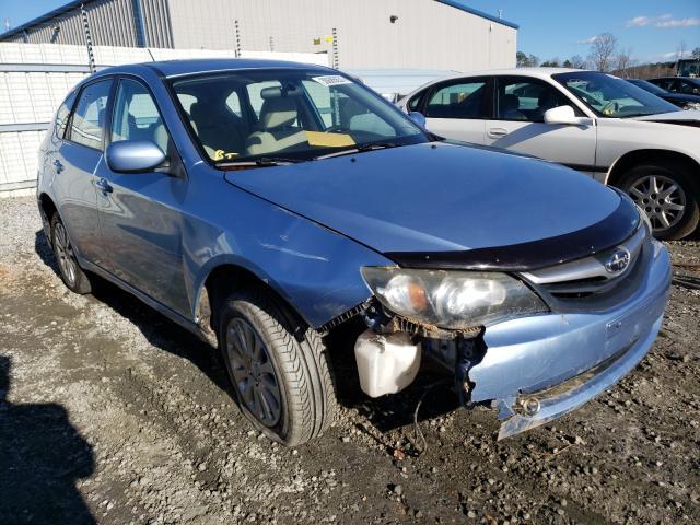 Salvage cars for sale from Copart Spartanburg, SC: 2011 Subaru Impreza 2