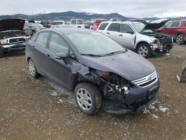 Salvage cars for sale from Copart Helena, MT: 2013 Ford Fiesta SE