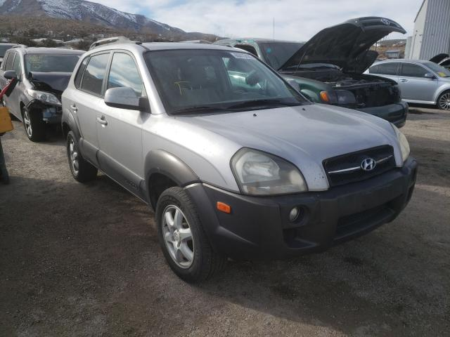 Salvage cars for sale from Copart Reno, NV: 2005 Hyundai Tucson GLS