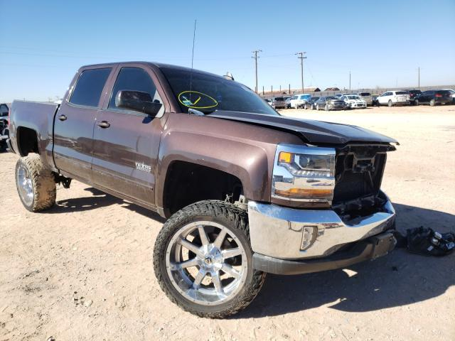 Salvage cars for sale from Copart Andrews, TX: 2016 Chevrolet Silverado
