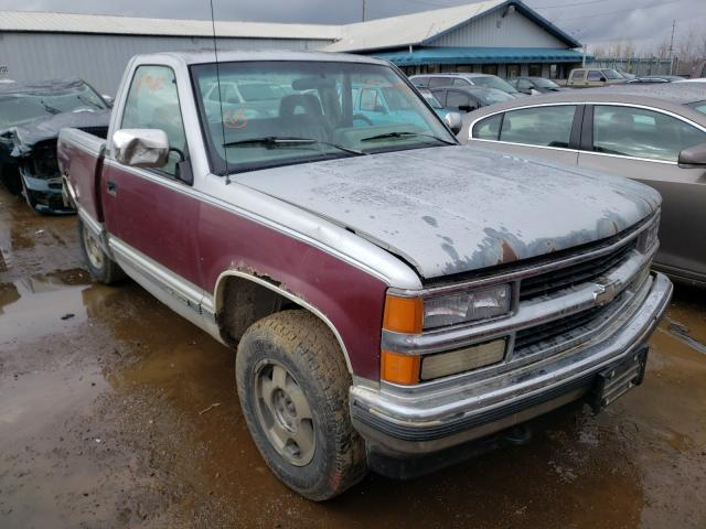 Salvage cars for sale from Copart Pekin, IL: 1994 Chevrolet GMT-400 K1
