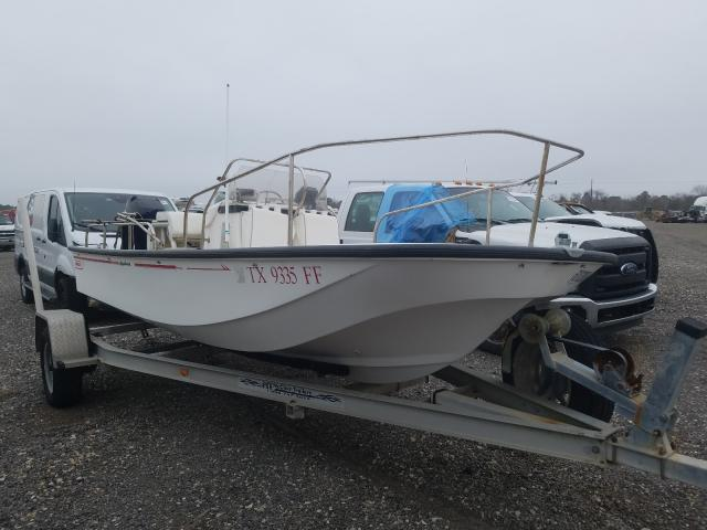 Salvage cars for sale from Copart Houston, TX: 1999 Boston Whaler 17 Mantauk