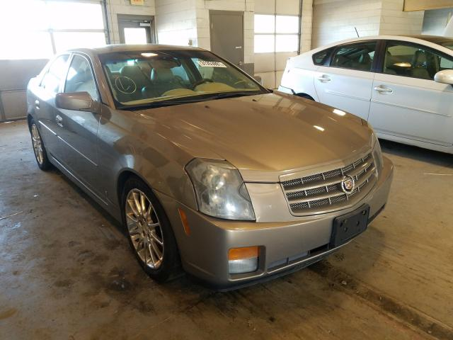 Salvage cars for sale from Copart Sandston, VA: 2007 Cadillac CTS HI FEA