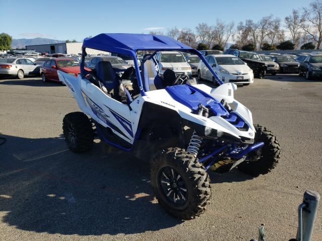 Salvage cars for sale from Copart Colton, CA: 2017 Yamaha YXZ1000RSS