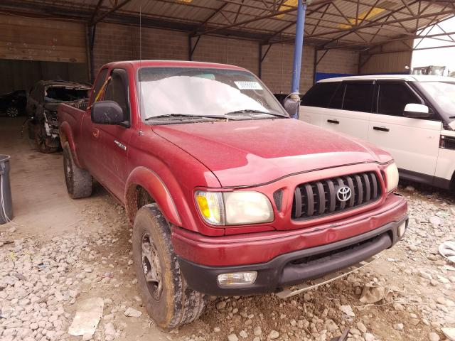 Salvage cars for sale from Copart Cartersville, GA: 2004 Toyota Tacoma XTR