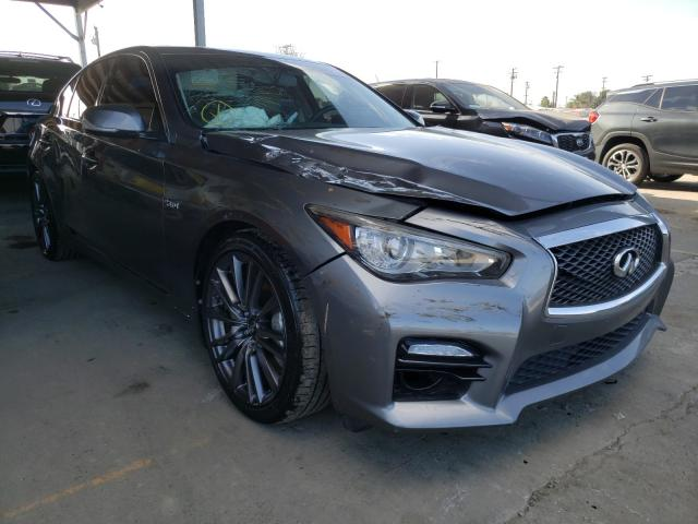 Infiniti Vehiculos salvage en venta: 2016 Infiniti Q50 RED SP