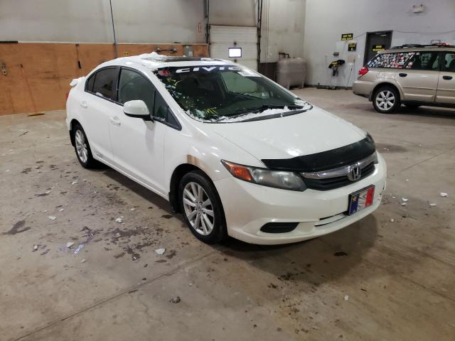 Salvage cars for sale from Copart Atlantic Canada Auction, NB: 2012 Honda Civic LX