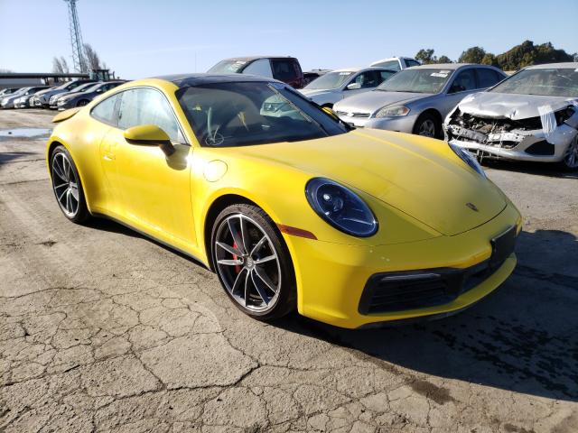 Salvage 2020 PORSCHE 911 - Small image. Lot 47058600