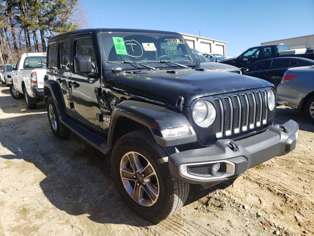 Salvage cars for sale from Copart Gainesville, GA: 2019 Jeep Wrangler U