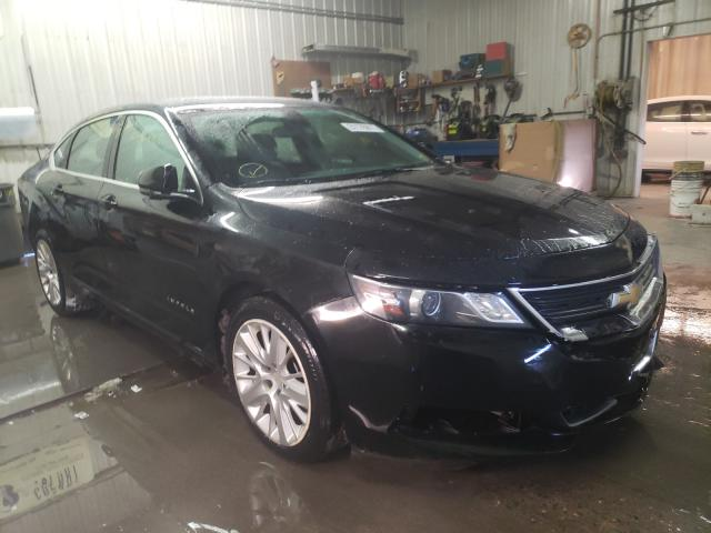 Salvage cars for sale from Copart Avon, MN: 2014 Chevrolet Impala LS