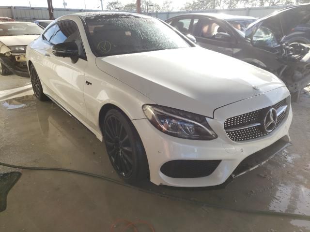 Salvage cars for sale from Copart Homestead, FL: 2018 Mercedes-Benz C 43 4matic