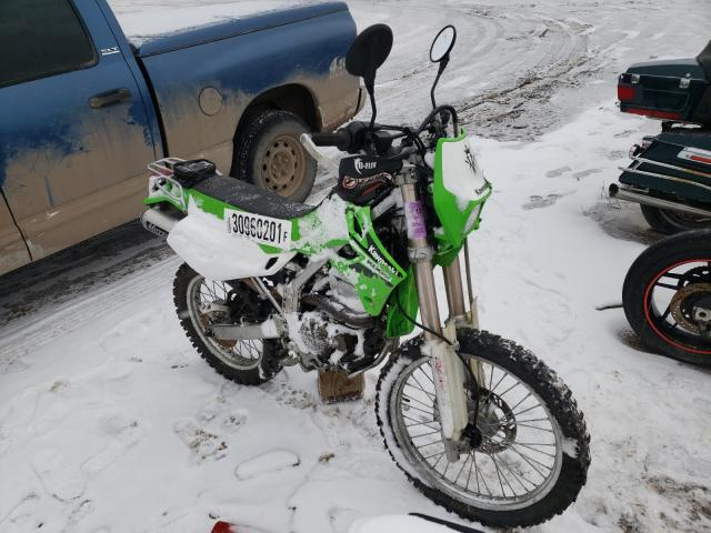 Salvage cars for sale from Copart Elgin, IL: 2006 Kawasaki KLX250 H6F