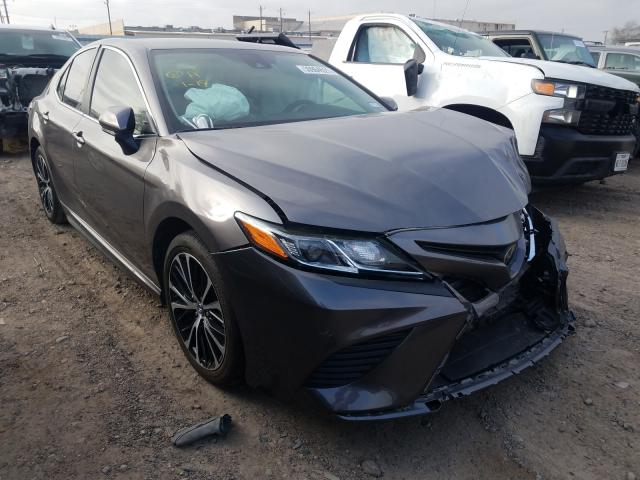 Salvage cars for sale from Copart Mercedes, TX: 2020 Toyota Camry