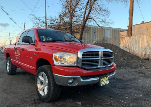 Salvage cars for sale from Copart Hillsborough, NJ: 2007 Dodge RAM 1500 S