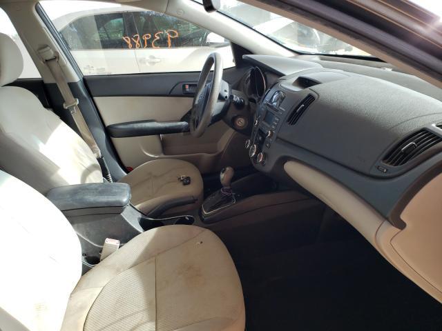2011 KIA FORTE EX - Left Rear View