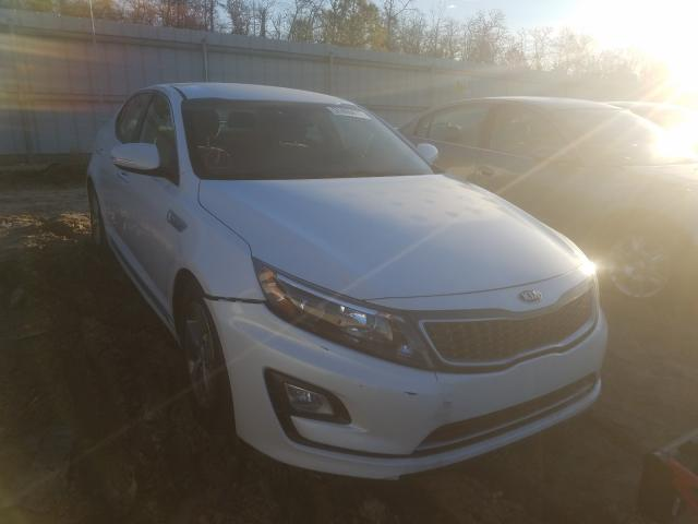 Salvage cars for sale from Copart Gaston, SC: 2015 KIA Optima Hybrid