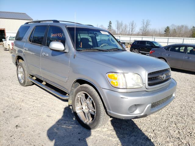 Salvage cars for sale from Copart Chatham, VA: 2001 Toyota Sequoia SR
