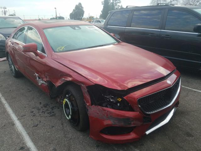 Mercedes-Benz salvage cars for sale: 2015 Mercedes-Benz CLS 400 4M