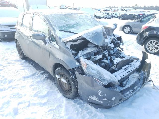 Salvage cars for sale at Montreal Est, QC auction: 2018 Nissan Versa Note