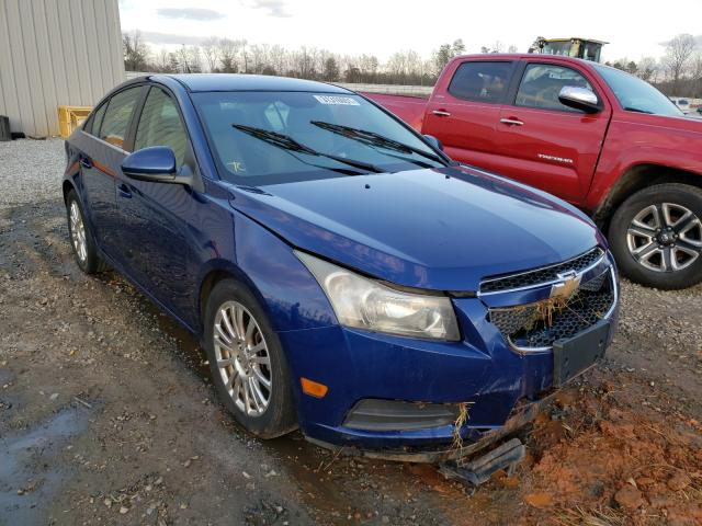 Salvage cars for sale from Copart Spartanburg, SC: 2012 Chevrolet Cruze ECO