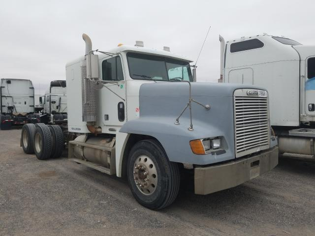 Salvage cars for sale from Copart Anthony, TX: 1999 Freightliner Convention