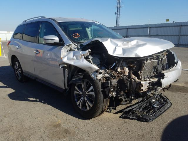Nissan salvage cars for sale: 2019 Nissan Pathfinder