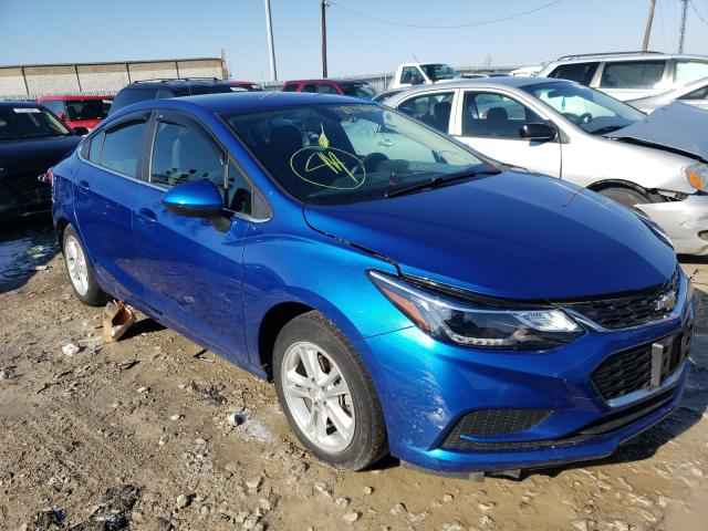 Salvage 2018 CHEVROLET CRUZE - Small image. Lot 29781181