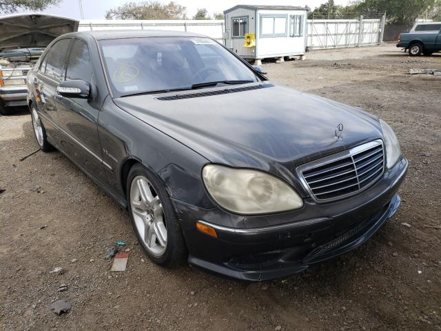 Mercedes-Benz salvage cars for sale: 2003 Mercedes-Benz S 55 AMG