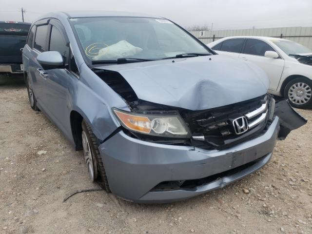 Salvage cars for sale from Copart San Antonio, TX: 2014 Honda Odyssey EX