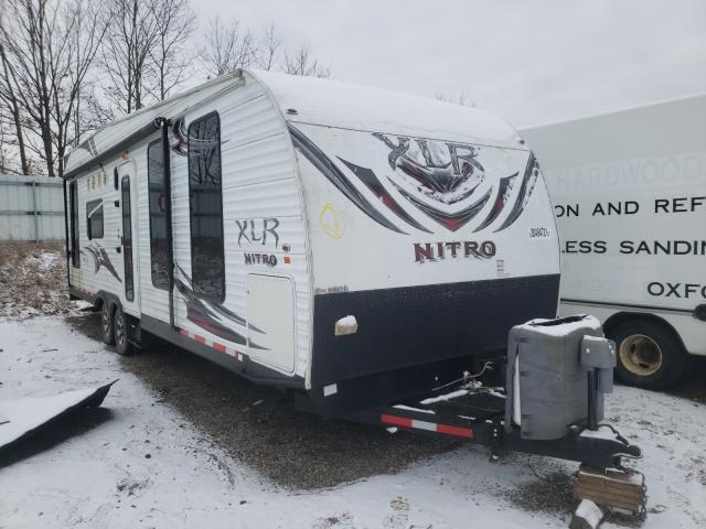 Salvage cars for sale from Copart Davison, MI: 2012 Wildwood Nitro XLR