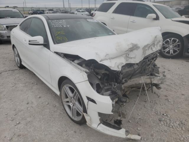 Mercedes-Benz salvage cars for sale: 2015 Mercedes-Benz C 250