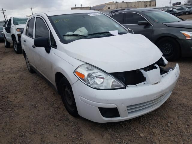 Salvage cars for sale from Copart Mercedes, TX: 2011 Nissan Versa S