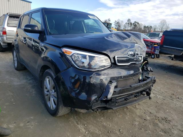 Salvage cars for sale from Copart Spartanburg, SC: 2014 KIA Soul +