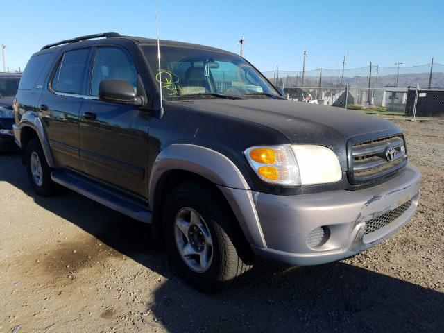 Toyota Sequoia salvage cars for sale: 2001 Toyota Sequoia