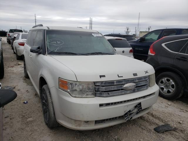 Salvage cars for sale from Copart Haslet, TX: 2009 Ford Flex SE