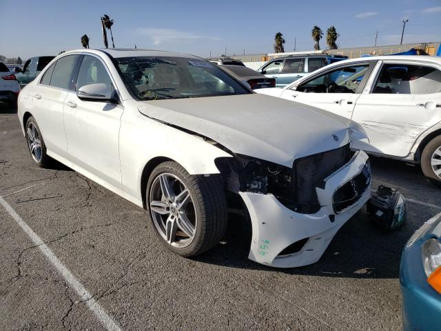 Salvage cars for sale from Copart Van Nuys, CA: 2018 Mercedes-Benz E 300